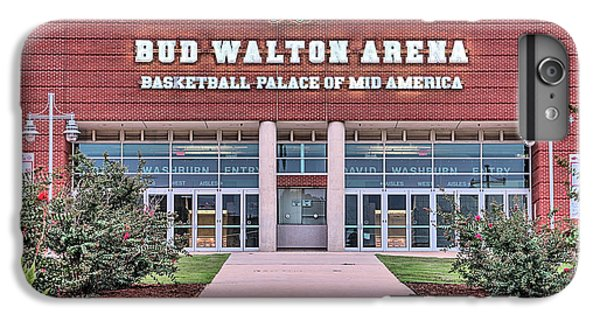Bud Walton Arena IPhone 6 Plus Case by JC Findley