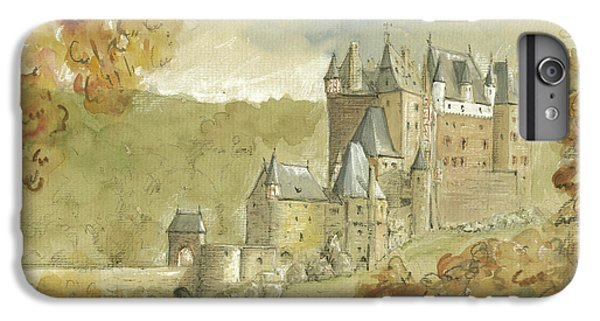 Burg Eltz Castle IPhone 6 Plus Case by Juan Bosco