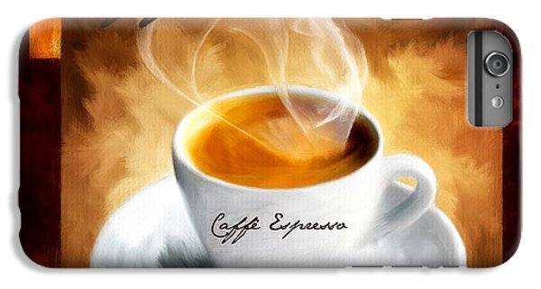 Caffe Espresso IPhone 6 Plus Case by Lourry Legarde