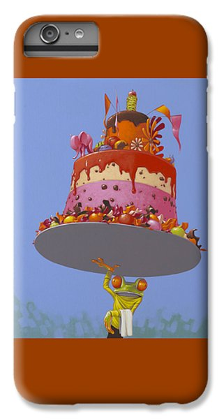 Cake IPhone 6 Plus Case by Jasper Oostland
