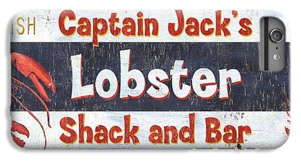 Captain Jack's Lobster Shack IPhone 6 Plus Case by Debbie DeWitt