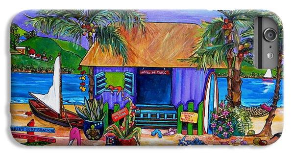 Cara's Island Time IPhone 6 Plus Case by Patti Schermerhorn