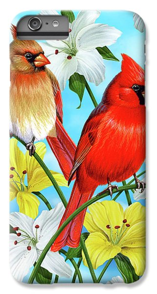 Cardinal Day IPhone 6 Plus Case by JQ Licensing