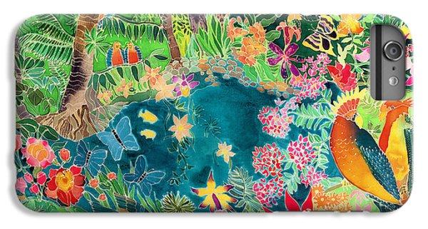 Caribbean Jungle IPhone 6 Plus Case by Hilary Simon
