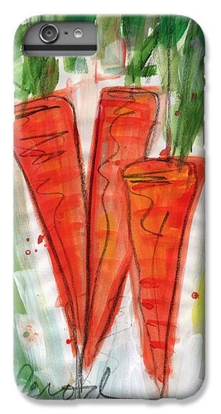 Carrots IPhone 6 Plus Case by Linda Woods