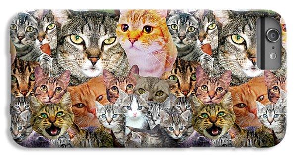 Cats IPhone 6 Plus Case by Gloria Sanchez