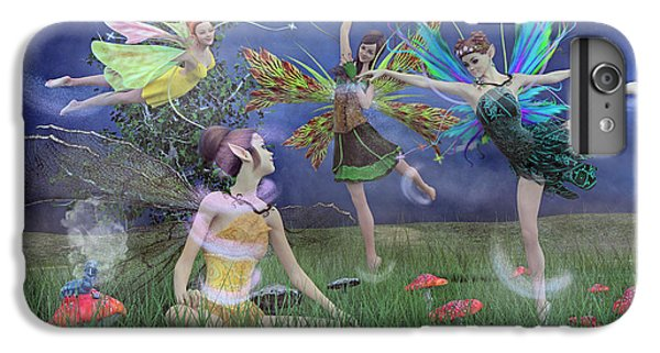 Celebration Of Night Alice And Oz IPhone 6 Plus Case by Betsy C Knapp