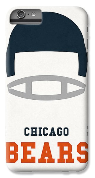 Chicago Bears Vintage Art IPhone 6 Plus Case by Joe Hamilton