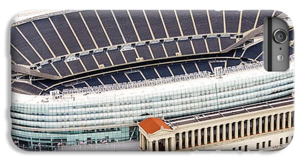 Chicago Soldier Field Aerial Photo IPhone 6 Plus Case by Paul Velgos