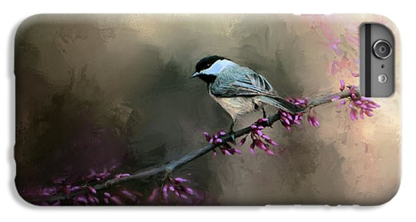 Chickadee In The Light IPhone 6 Plus Case by Jai Johnson
