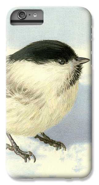 Chilly Chickadee IPhone 6 Plus Case by Sarah Batalka