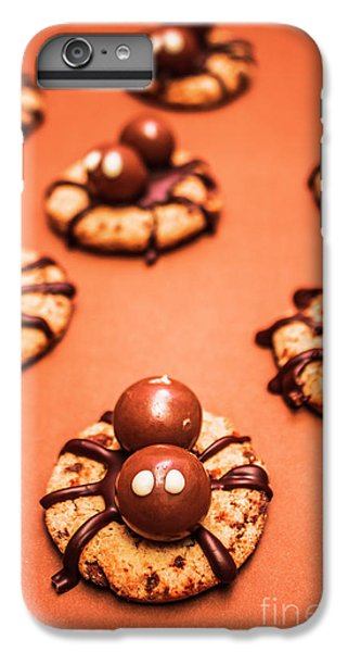 Chocolate Peanut Butter Spider Cookies IPhone 6 Plus Case by Jorgo Photography - Wall Art Gallery