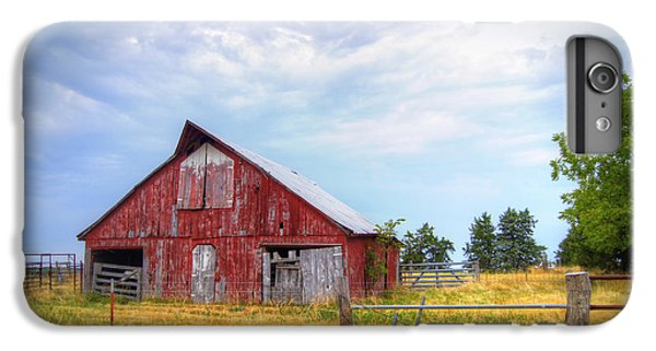 Christian School Road Barn IPhone 6 Plus Case by Cricket Hackmann