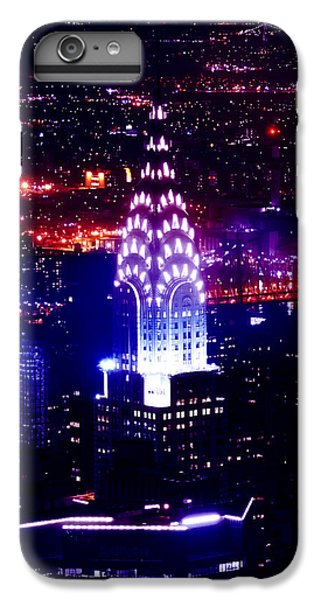 Chrysler Building At Night IPhone 6 Plus Case by Az Jackson
