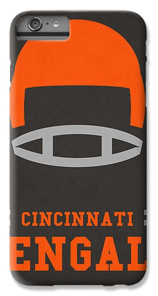 Cincinnati Bengals Vintage Art IPhone 6 Plus Case by Joe Hamilton