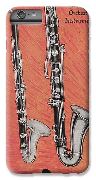 Clarinet And Giant Boehm Bass IPhone 6 Plus Case by American School