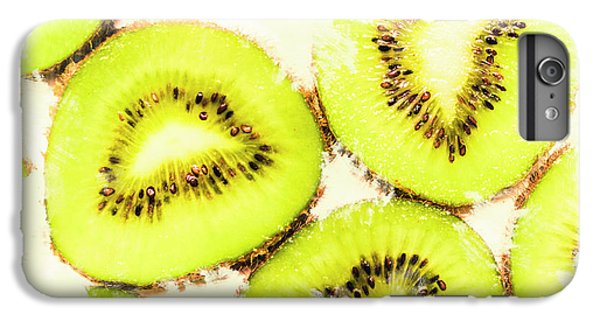 Close Up Of Kiwi Slices IPhone 6 Plus Case by Jorgo Photography - Wall Art Gallery