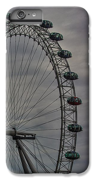 Coca Cola London Eye IPhone 6 Plus Case by Martin Newman