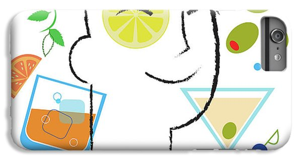 Cocktail Time IPhone 6 Plus Case by Lisa Henderling
