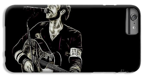 Coldplay Collection Chris Martin IPhone 6 Plus Case by Marvin Blaine
