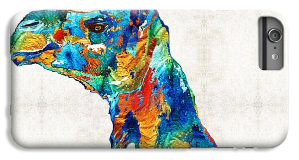 Colorful Camel Art By Sharon Cummings IPhone 6 Plus Case by Sharon Cummings