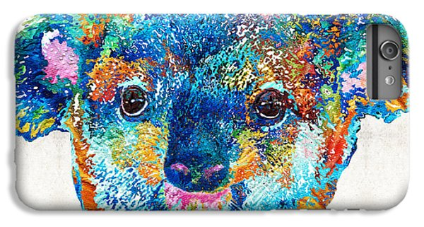 Colorful Koala Bear Art By Sharon Cummings IPhone 6 Plus Case by Sharon Cummings
