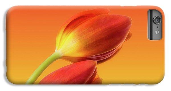 Colorful Tulips IPhone 6 Plus Case by Wim Lanclus