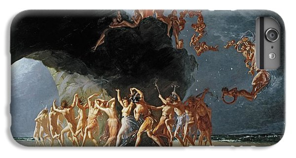 Come Unto These Yellow Sands IPhone 6 Plus Case by Richard Dadd