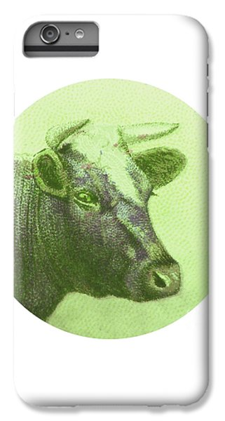 Cow II IPhone 6 Plus Case by Desiree Warren
