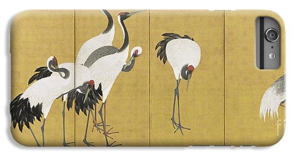 Cranes IPhone 6 Plus Case by Maruyama Okyo