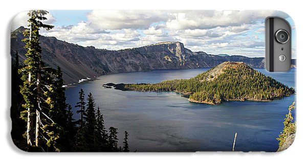 Crater Lake - Intense Blue Waters And Spectacular Views IPhone 6 Plus Case by Christine Till