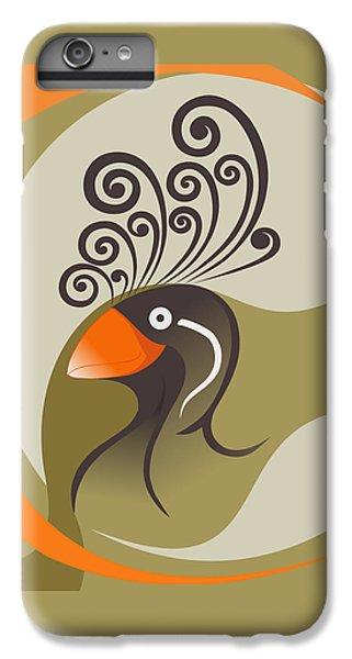 crestedAUKLET IPhone 6 Plus Case by Mariabelones ART