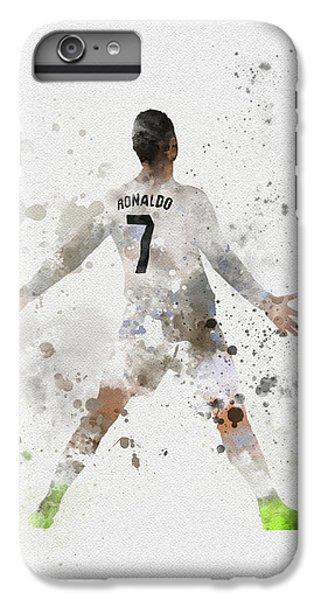 Cristiano Ronaldo IPhone 6 Plus Case by Rebecca Jenkins