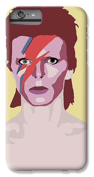 David Bowie IPhone 6 Plus Case by Nicole Wilson