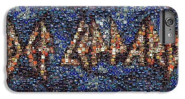Def Leppard Albums Mosaic IPhone 6 Plus Case by Paul Van Scott