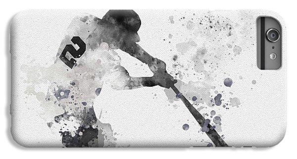 Derek Jeter IPhone 6 Plus Case by Rebecca Jenkins