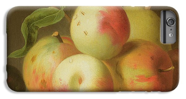 Detail Of Apples On A Shelf IPhone 6 Plus Case by Jakob Bogdany
