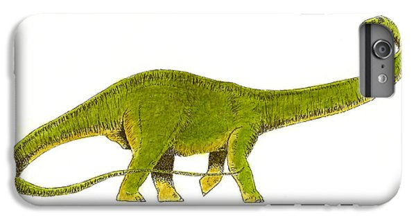 Diplodocus IPhone 6 Plus Case by Michael Vigliotti