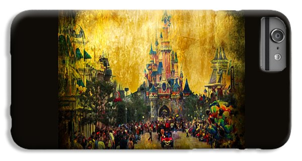 Disney World IPhone 6 Plus Case by Svetlana Sewell