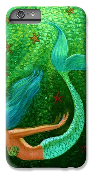 Diving Mermaid Fantasy Art IPhone 6 Plus Case by Sue Halstenberg