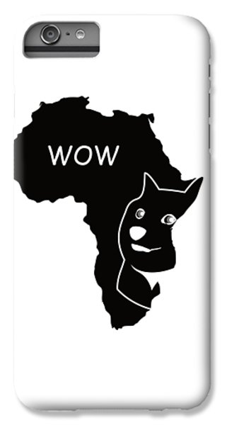 Dogecoin In Africa IPhone 6 Plus Case by Michael Jordan