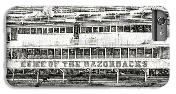 Donald W. Reynolds Razorback Stadium IPhone 6 Plus Case by JC Findley