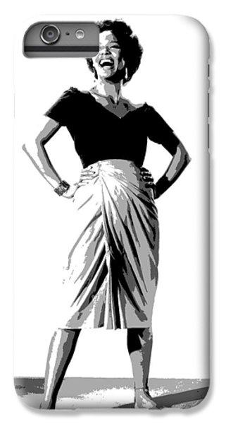 Dorothy Jean Dandridge IPhone 6 Plus Case by Charles Shoup
