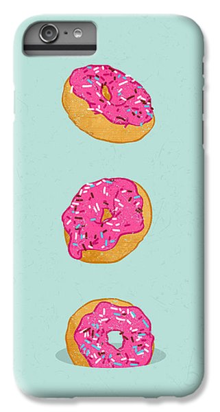 Doughnuts IPhone 6 Plus Case by Evgenia Chuvardina
