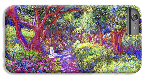 Dove And Healing Garden IPhone 6 Plus Case by Jane Small