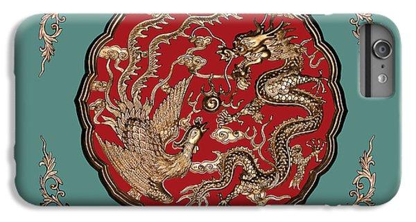 Dragon And Phoenix IPhone 6 Plus Case by Kristin Elmquist