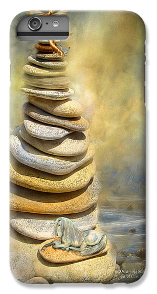 Dreaming Stones IPhone 6 Plus Case by Carol Cavalaris