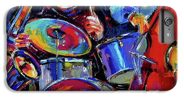 Drums And Friends IPhone 6 Plus Case by Debra Hurd