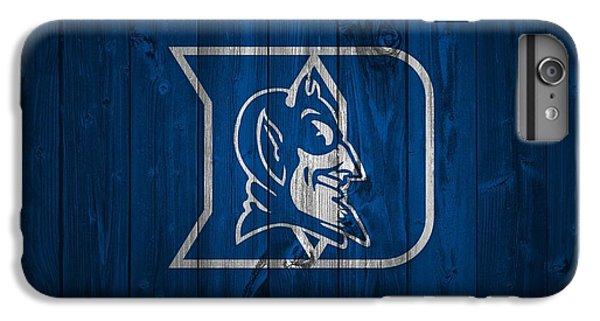 Duke Blue Devils Barn Door IPhone 6 Plus Case by Dan Sproul