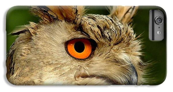 Eagle Owl IPhone 6 Plus Case by Jacky Gerritsen